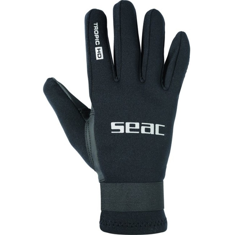 Handschuhe TROPIC HD BLACK 1,5mm, 5 Finger v. SEAC