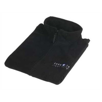 Aqualung Fleece Weste schwarz