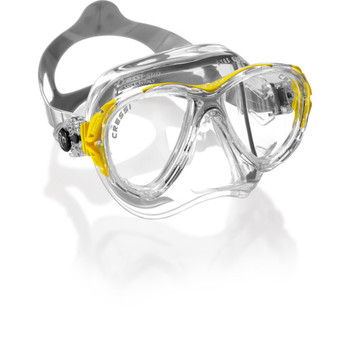 Eyes Evolution Crystal v. Cressi Maske