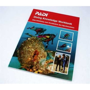 DIVING KNOWLEDGE Workbook GERMAN Neu Version